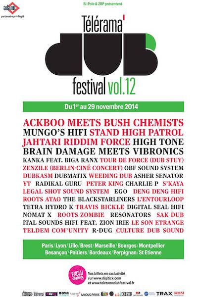 Telerama Dub Festival 2014