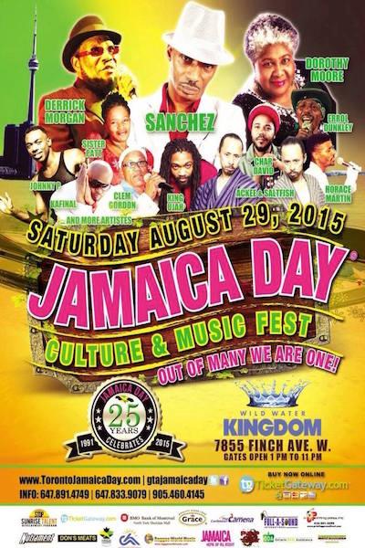 Toronto Jamaica Day 2015