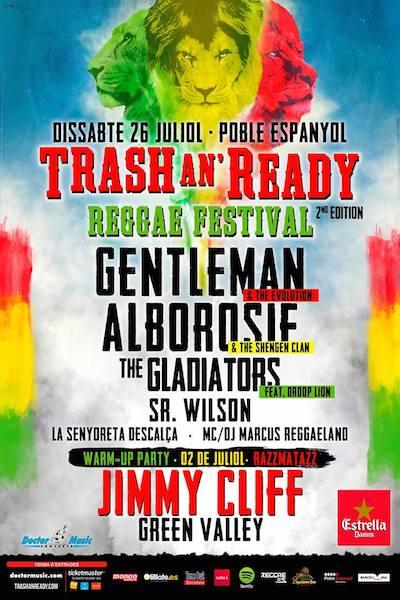 CANCELLED! Trash An`Ready Festival 2014