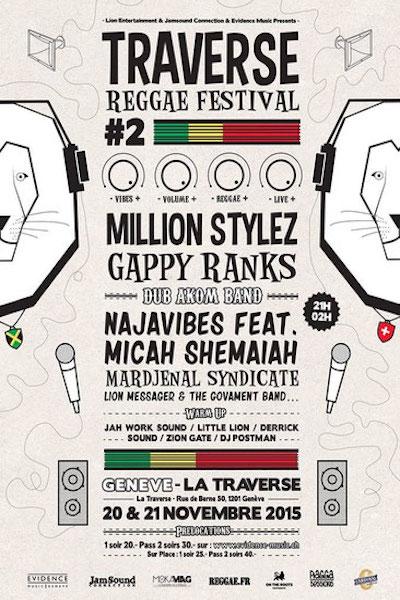 Traverse Reggae Festival 2015