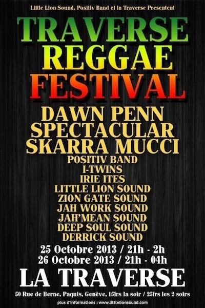 Traverse Reggae Festival 2013