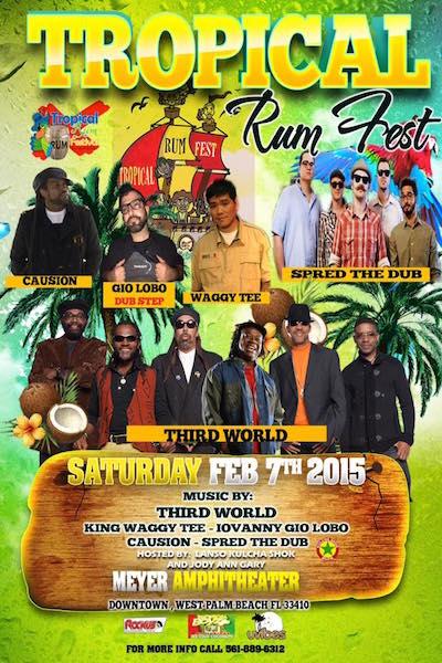 Tropical Rum Fest 2015