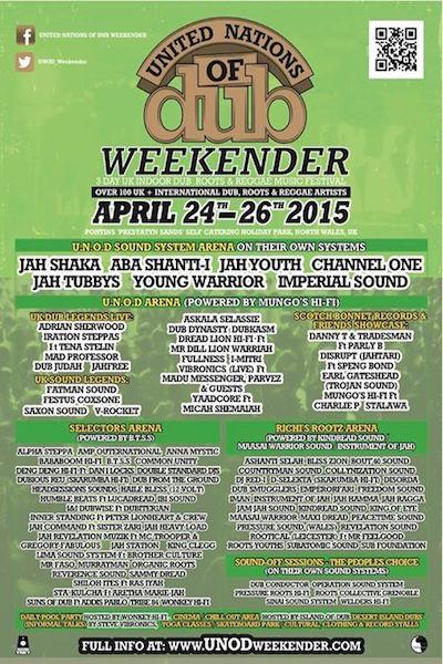 United Nations Of Dub Weekender 2015