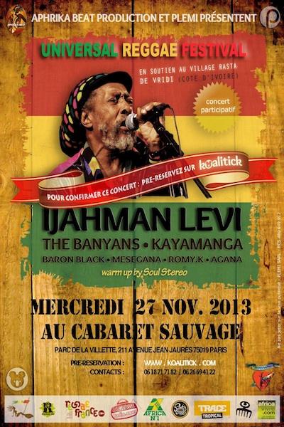 Universal Reggae Festival 2013
