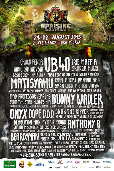 Uprising Reggae Festival 2015