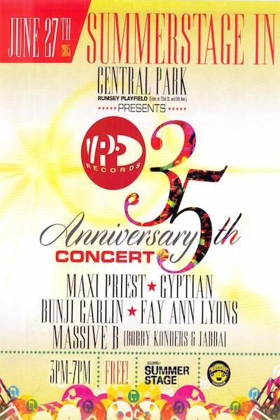 VP Records 35th Anniversary