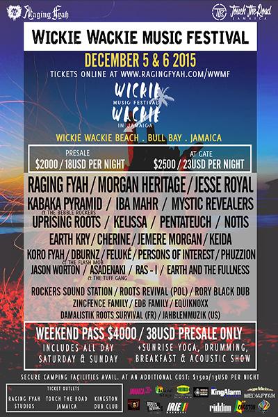 Wickie Wackie Music Festival 2015