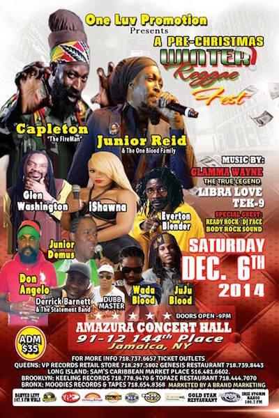 Winter Reggae Fest 2014