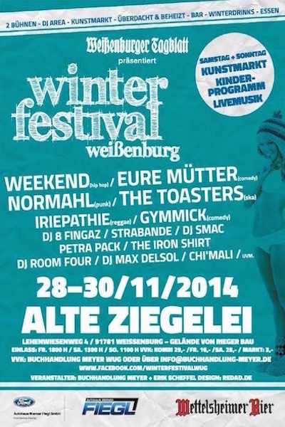 Winterfestival Weißenburg 2014