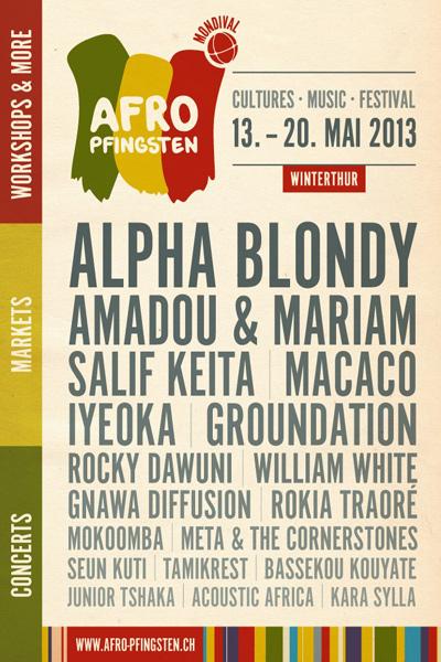 Afro Pfingsten 2013