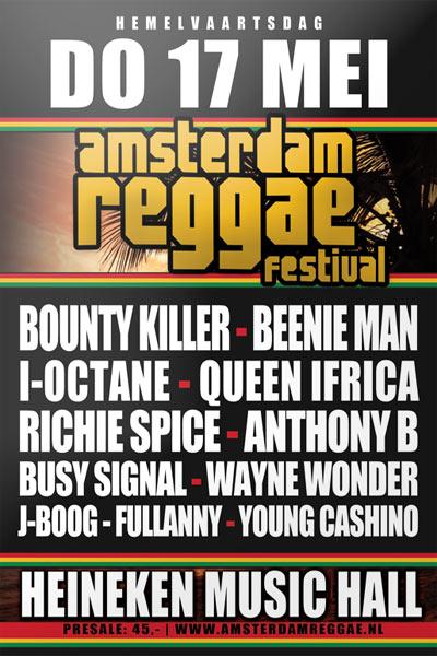 Amsterdam Reggae Festival 2012