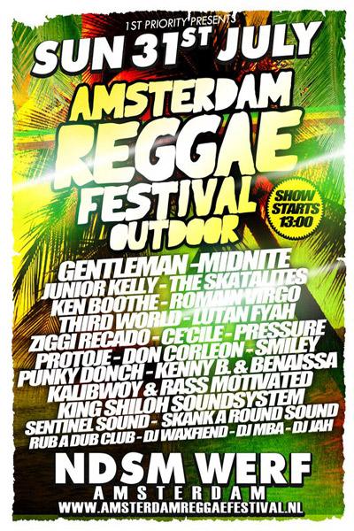 Amsterdam Reggae Festival - Outdoor 2011