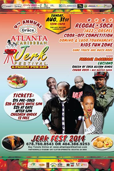 Atlanta Jerk Festival 2014