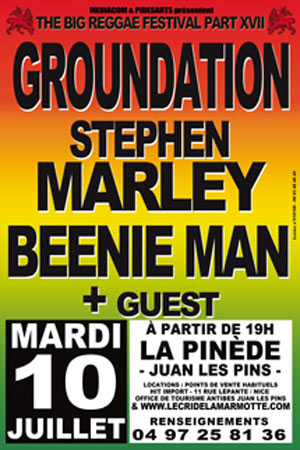 Big Reggae Festival 2012