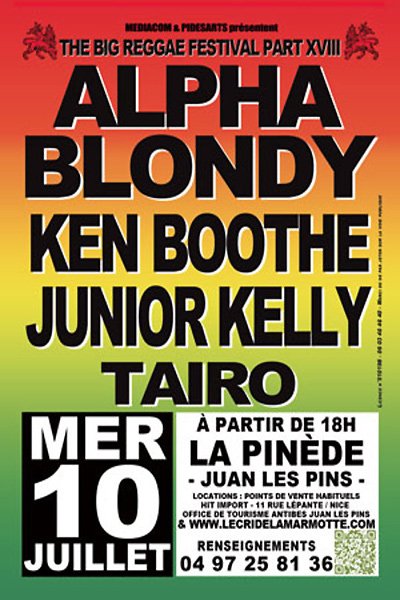Big Reggae Festival 2013