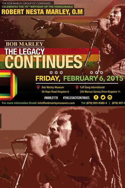 Bob Marley - The Legacy Continues 2015