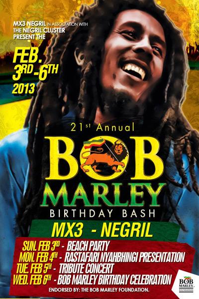 Bob Marley Birthday Bash 2013