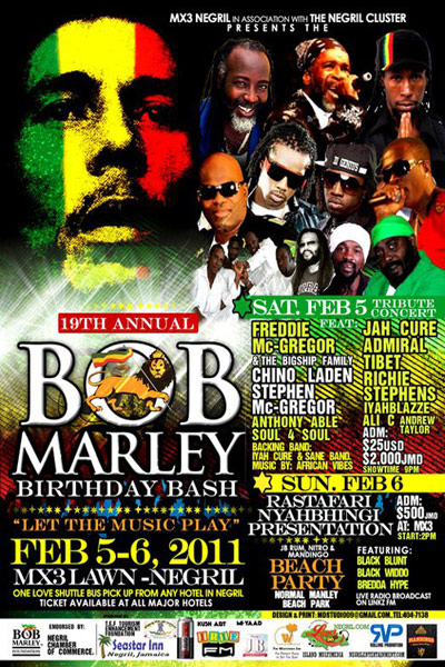 Bob Marley Birthday Bash 2011