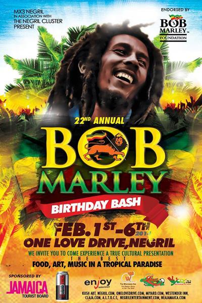Bob Marley Birthday Bash 2014