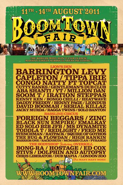 Boomtown Fair 2011