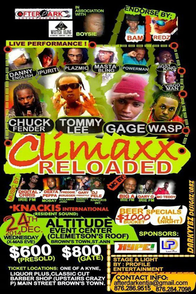 Climaxx Reloaded 2014