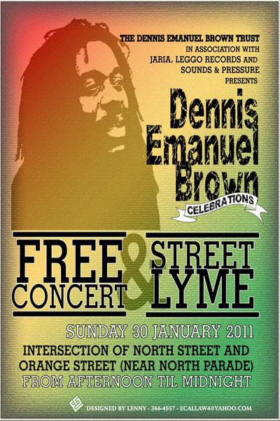 Dennis Emanuel Brown Celebrations