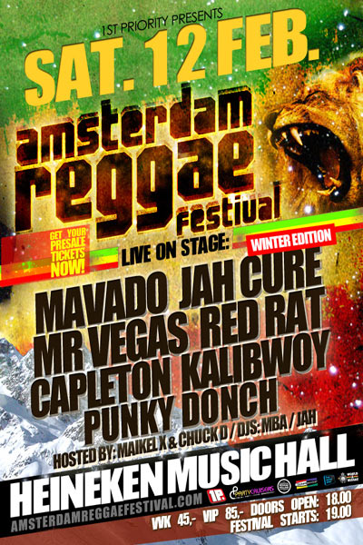 Amsterdam Reggae Festival - Winter Edition 2011