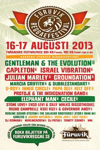 Furuvik Reggae Festival 2013