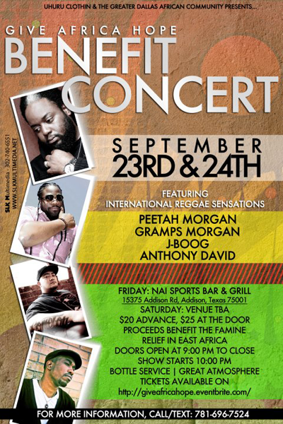 Give Africa Hope Benefit Concert