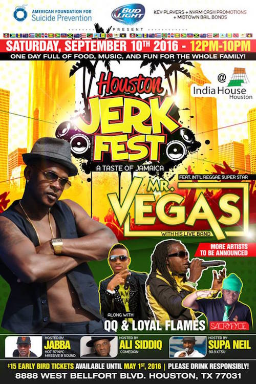 Houston Jerk Fest 2016
