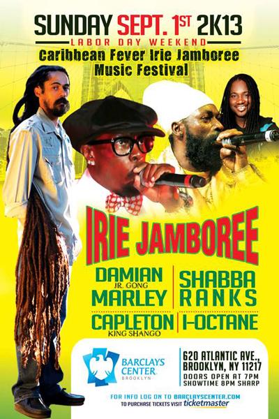 Irie Jamboree 2013