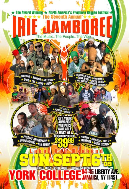 Irie Jamboree 2009
