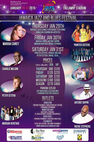 Jamaica Jazz & Blues 2015