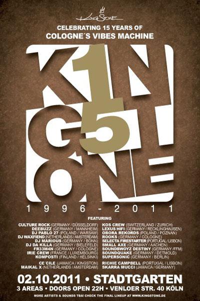 15 Years Kingstone Anniversary