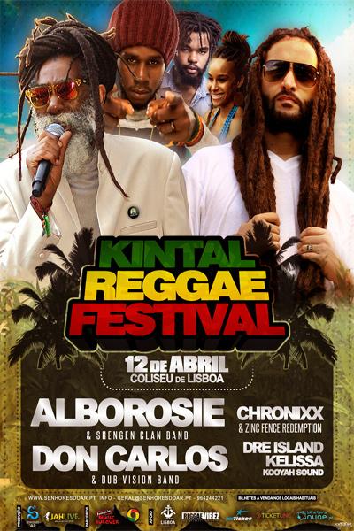 Kintal Reggae Festival - Lisbon 2014