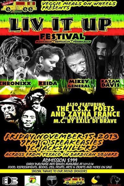 Liv It Up Festival 2013
