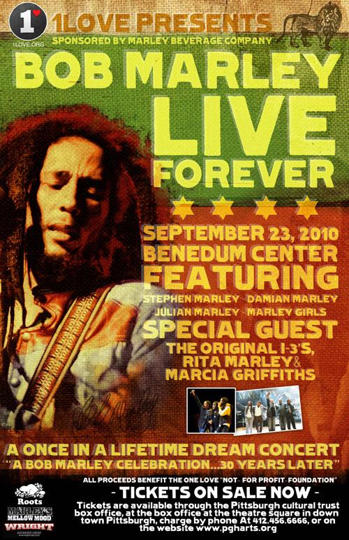 Live Forever: A Tribute To Bob Marley