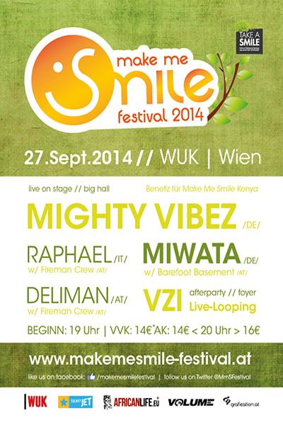 Make Me Smile Festival 2014