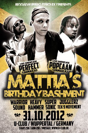 Mattia's Birthday Bashment 2012