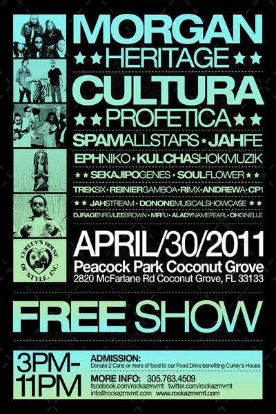 Miami Reggae Festival 2011