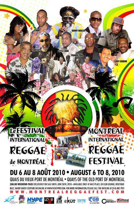 Montreal Reggae Festival 2010