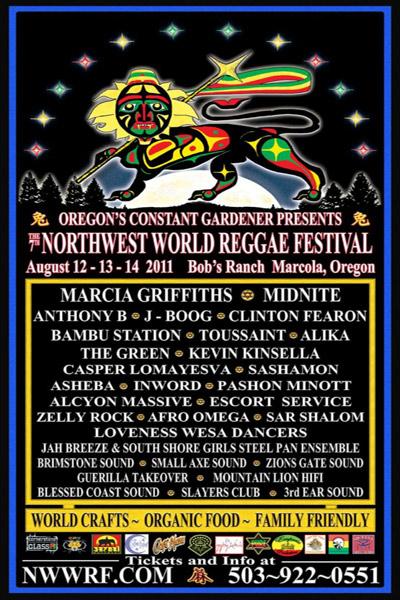 NW World Reggae Festival 2011