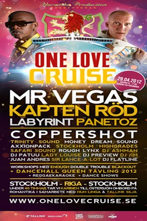 One Love Cruise 2012