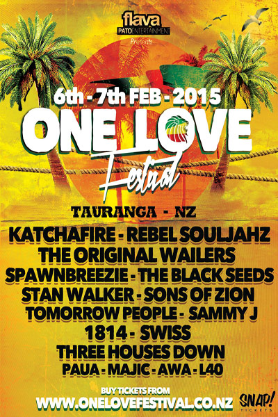 One Love Festival NZ 2015