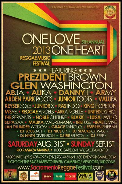 One Love One Heart 2013