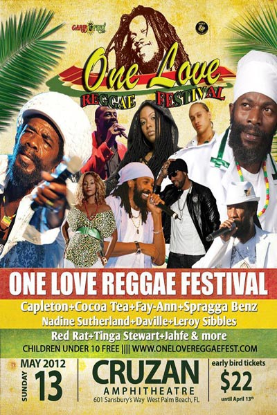 One Love Reggae Festival 2012