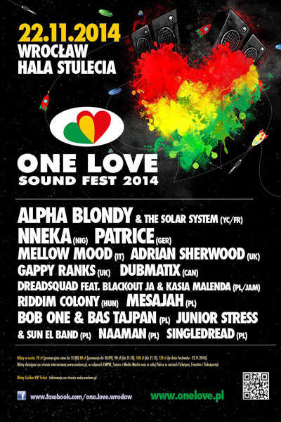 One Love Sound Fest 2014