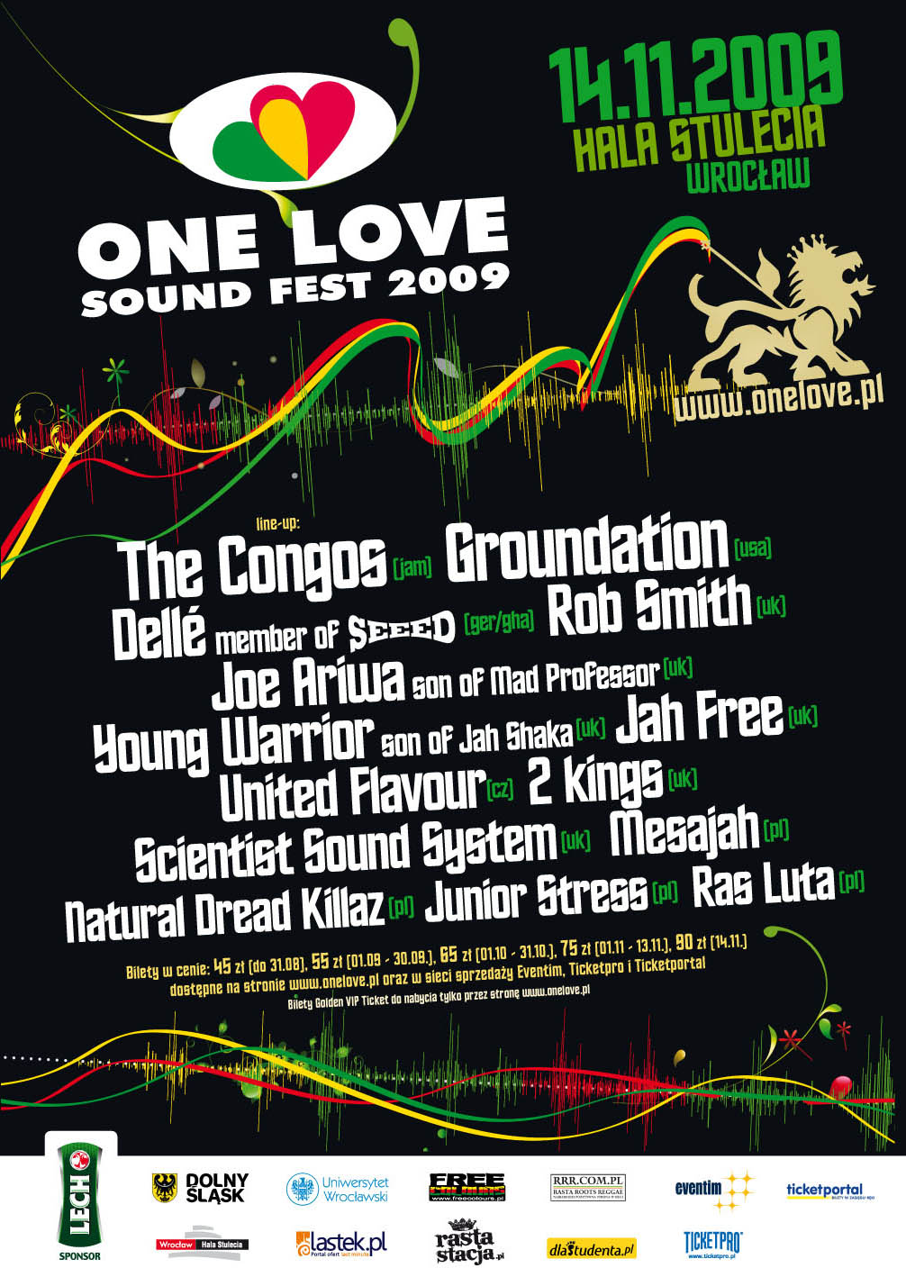 One Love Sound Fest 2009