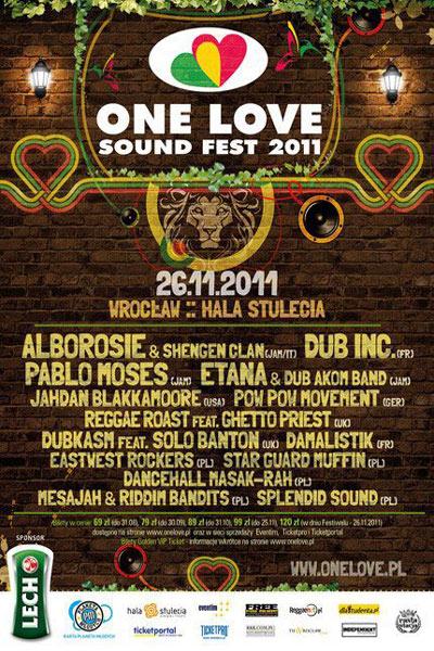 One Love Sound Fest 2011
