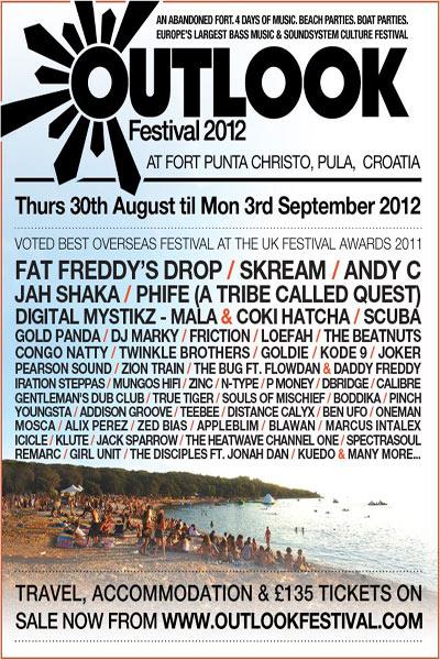 Outlook Festival 2012